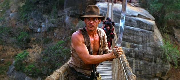 Harrison Ford em 'Indiana Jones e o Templo da Perdição' (1984) (Foto: Divulgação)