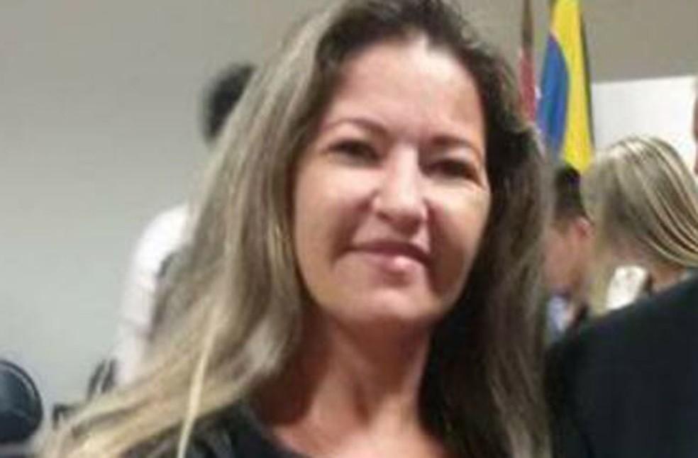 A professora Silma Lopes, indiciada por maus-tratos e tortura de alunos de creche em Restinga (Foto: Reprodução)