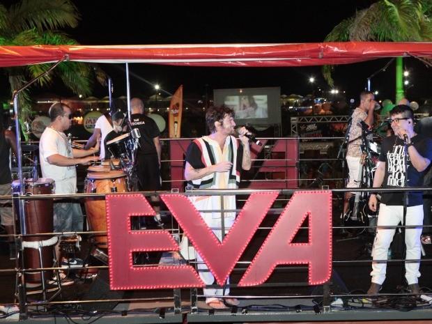 Banda Eva deve fechar a última noite do Fortal neste domingo (Foto: André Lima/ Divulgação)