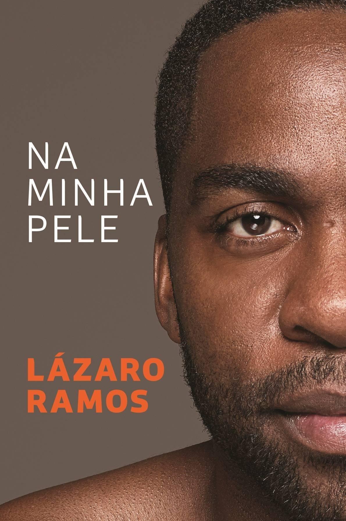 A capa do livro de Lázaro Ramos
