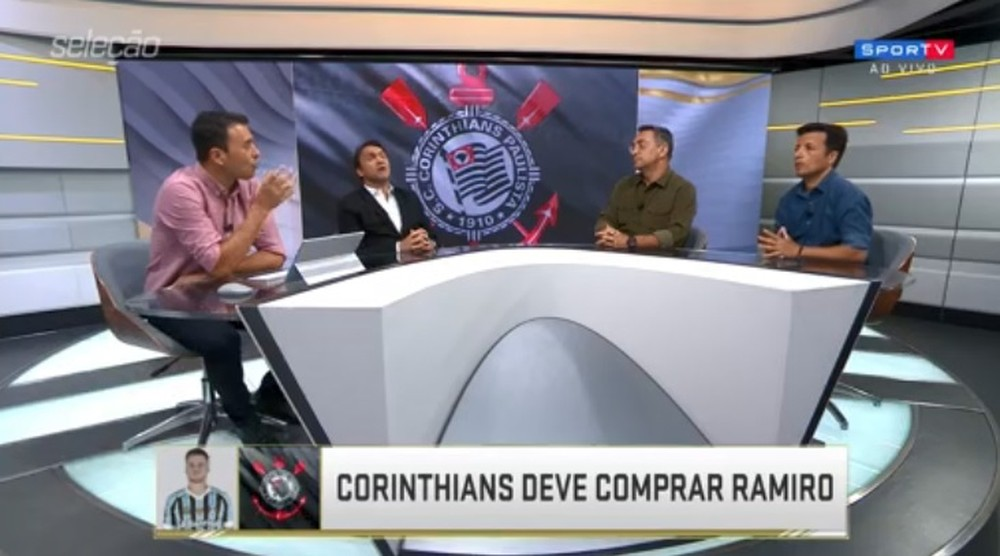 """""""A torcida solta rojão se forem confirmados"""", diz Noriega, sobre interesse do Corinthians por Ramiro, Luan e Sornoza"""