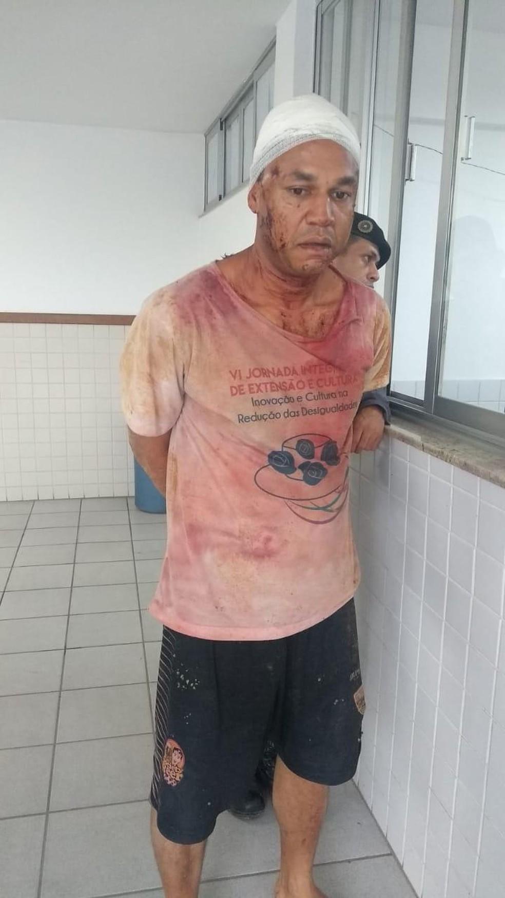 Eduardo Cruz da Silva foi preso em flagrante e levado para o presídio — Foto: Divulgação