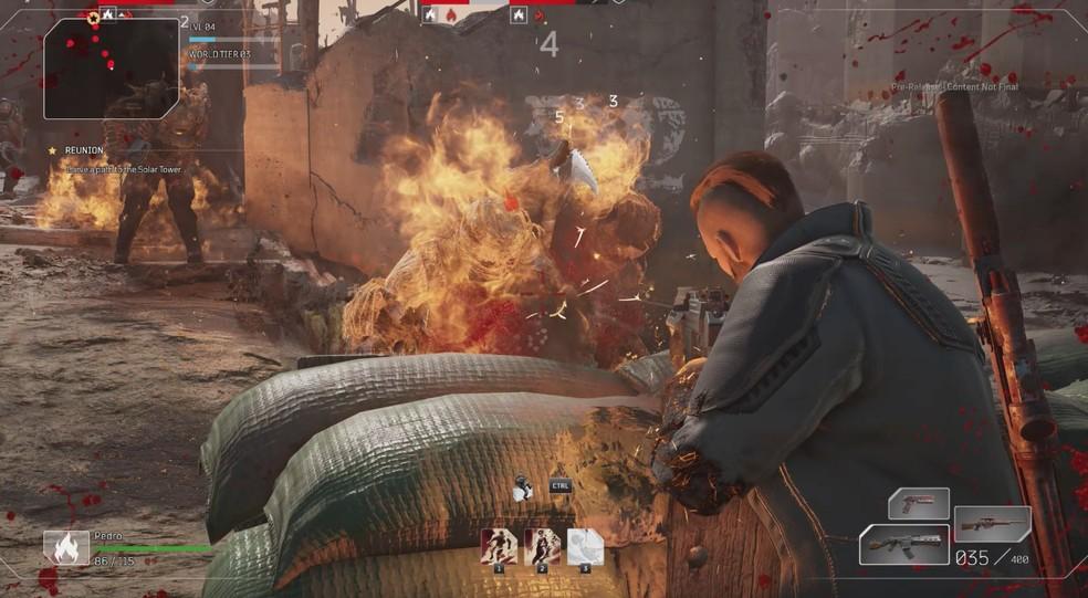 Outriders é o novo shooter RPG da Square Enix — Foto: Reprodução/Pedro Vital