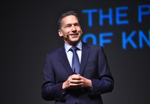 William Ury em palestra durante o HSM Expo 2018, em São Paulo (Foto: Divulgação)