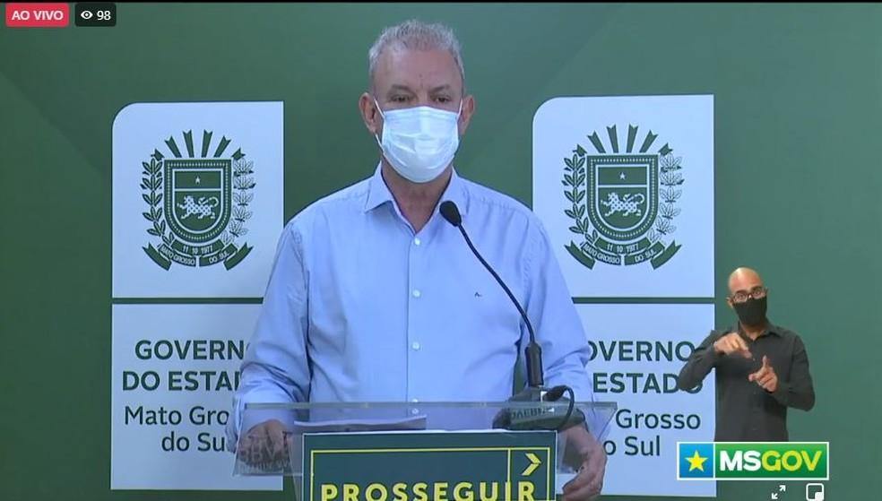 Secretário estadual de Saúde, Geraldo Resende — Foto: Reprodução/Redes Sociais