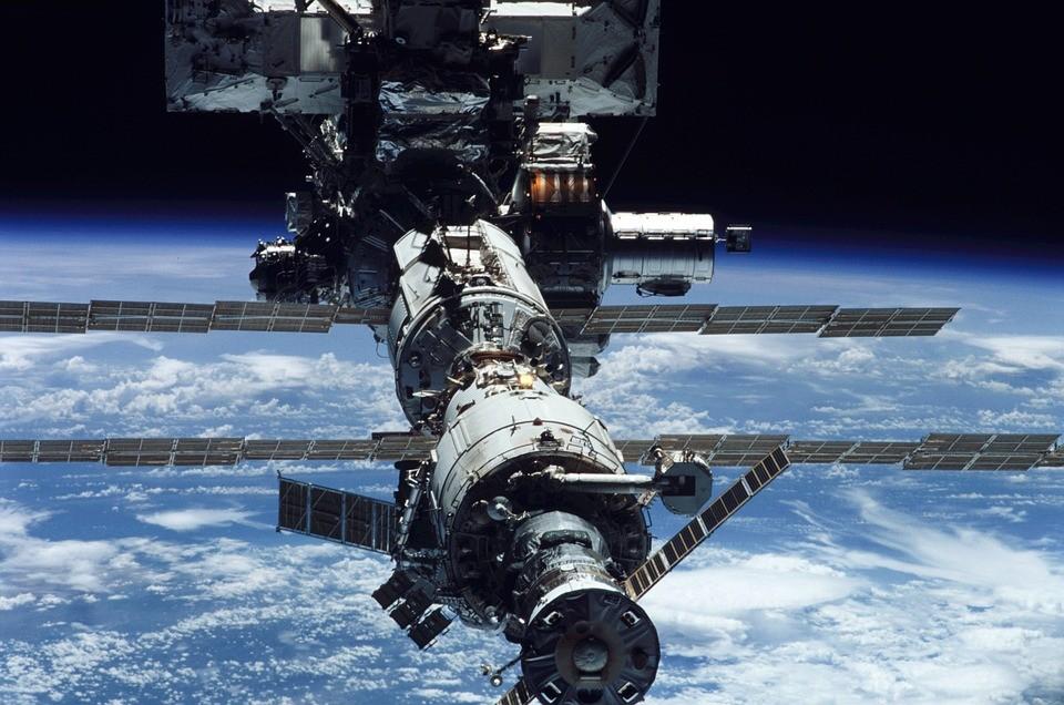 Estação Espacial Internacional (EEI) (Foto: Pixabay/WikilImages/Creative Commons)