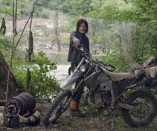 Norman Reedus em 'The Walking Dead'    Gene Page/AMC