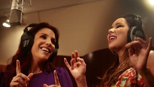 Ex-The Voice Liah Soares grava DVD com participação de Ivete Sangalo