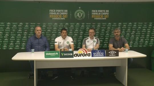 """Apresentado na Chape, Claudinei Oliveira rechaça trabalho de só nove jogos: """"Quero mais de 100"""""""