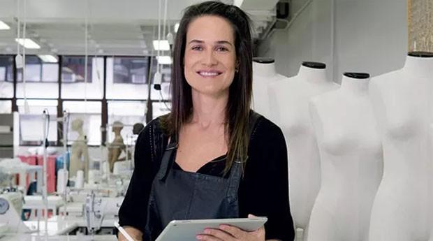 Roberta Weiand: empreendedora levou tecnologia para o setor de moda (Foto: Raquel Brust)