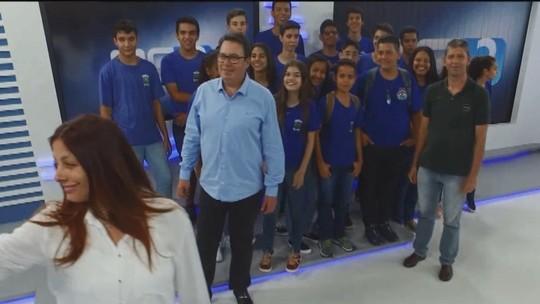 MGTV na Escola: projeto abre as portas para escola de Indianópolis