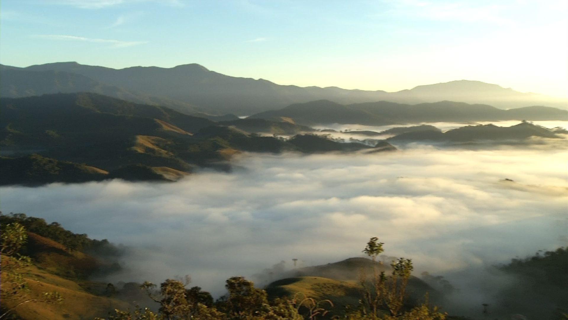Parque Nacional do Itatiaia, no Sul do Rio, registra temperatura negativa nesta quinta-feira