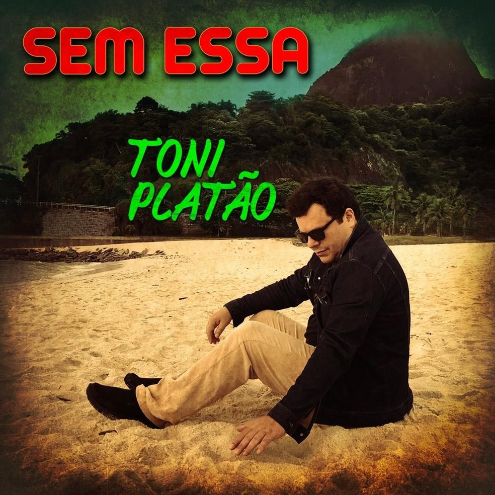 Capa do single 'Sem essa', de Toni Platão — Foto: Divulgação