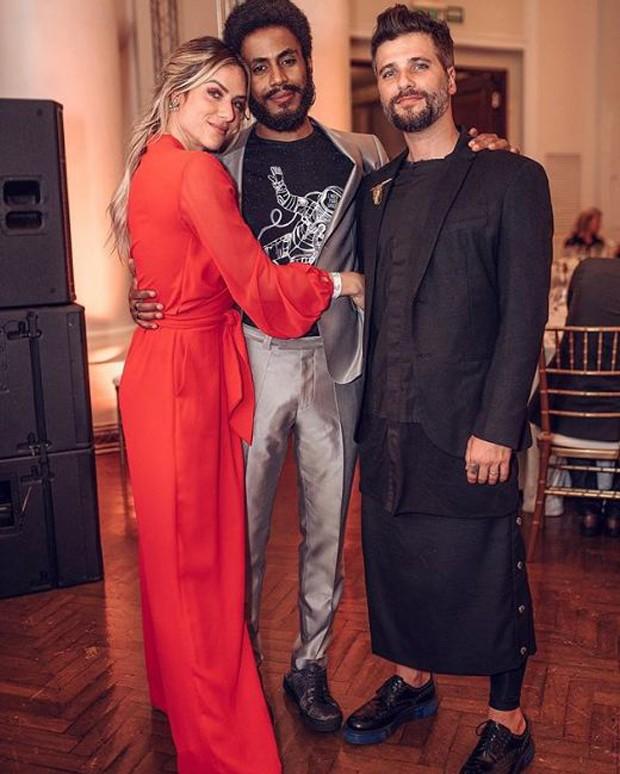 Giovanna Ewbank, Ícaro Silva e Bruno Gagliasso (Foto: Reprodução/Instagram)