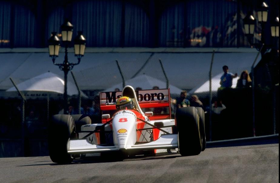 McLaren da última vitória de Ayrton Senna em Mônaco será leiloada em Paris