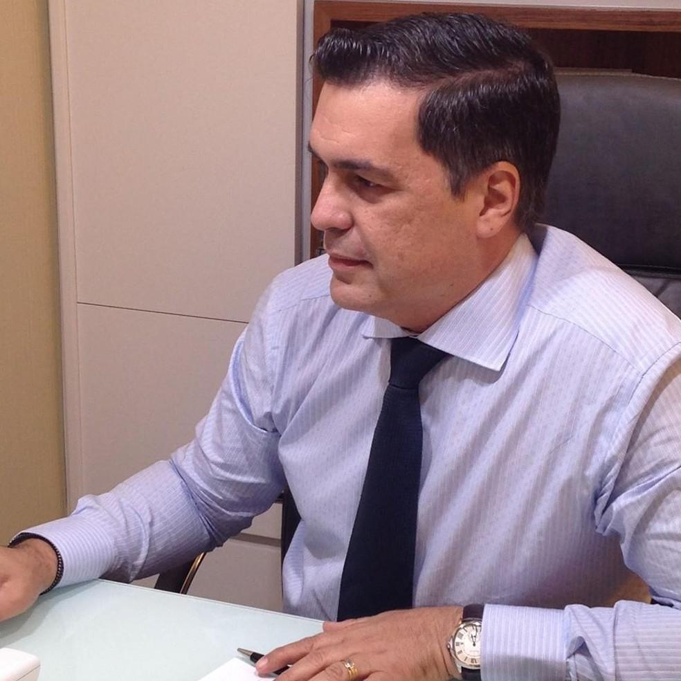 Jayme de Oliveira Junior tinha 52 anos e era asmático — Foto: Reprodução