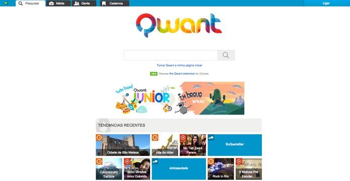 Qwant (Foto: Reprodução/André Sugai)