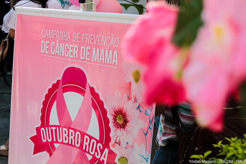 São Vicente promove evento de conscientização pelo Outubro Rosa  - Notícias - Plantão Diário