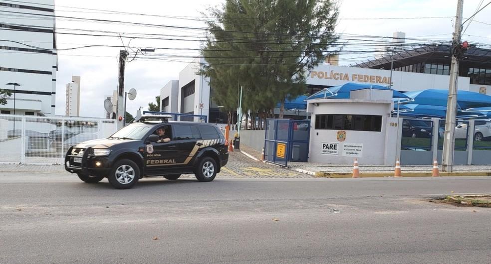 Operação da PF apura supostas fraudes em licitações em prefeitura de município do Rio Grande do Norte. — Foto: PF/Divulgação