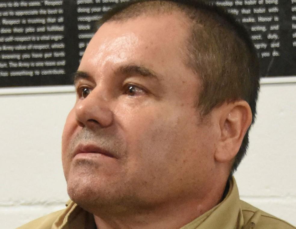 Joaquín 'El Chapo' Guzmán em foto de 19 de janeiro de 2017 — Foto: United States Drug Enforcement Administration / via AP Photo