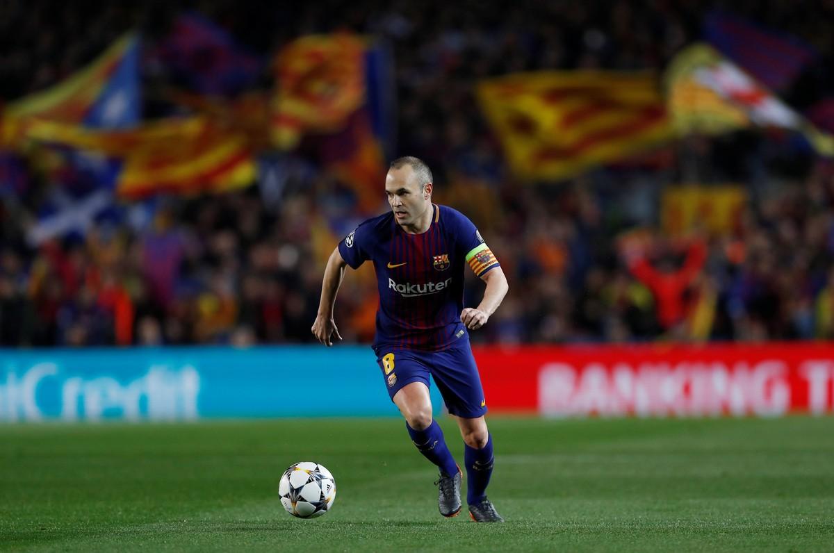 3be17062599df1 Era Iniesta: craque se despede do Barça como recordista de títulos ...