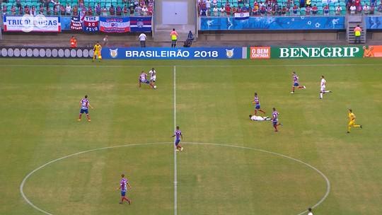"""Com estilo de jogo """"pegado"""", Bahia é a equipe mais faltosa da Série A do Brasileiro"""