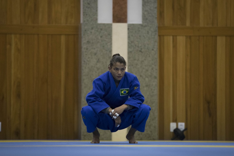 Sarah Menezes  (Foto: Marcio Rodrigues/MPIX/CBJ)