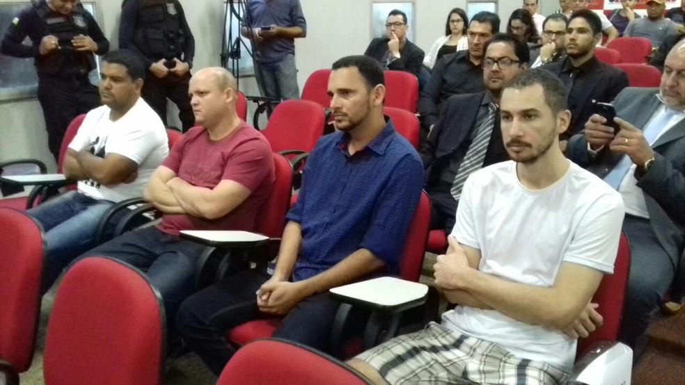 Suspeitos de envolvimento na morte serão ouvidos em audiência (Foto: Marcos Humberto/TV Anhanguera)
