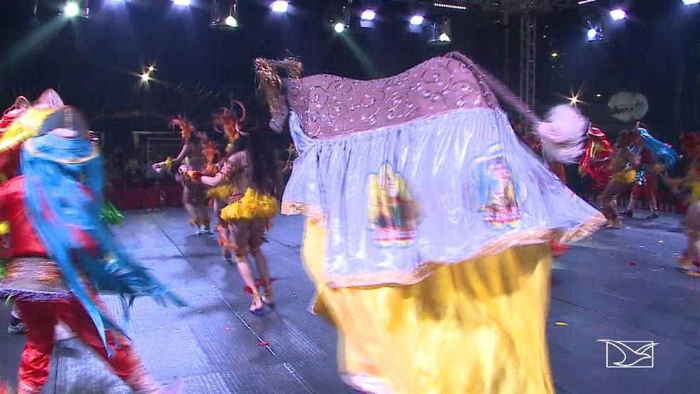 Bumba-meu-boi é uma das principais representações culturais do Maranhão no São João — Foto:  Reprodução/TV Mirante