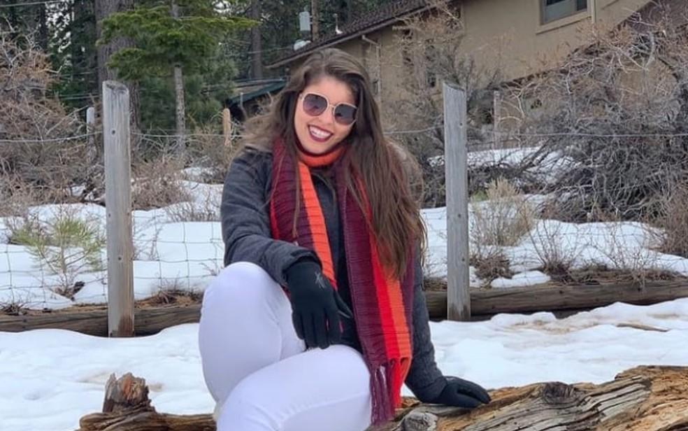 Goiana Lídia Lúcia foi encontrada morta no apartamento do ex-namorado nos EUA — Foto: Leidianne Ferreira/Arquivo Pessoal