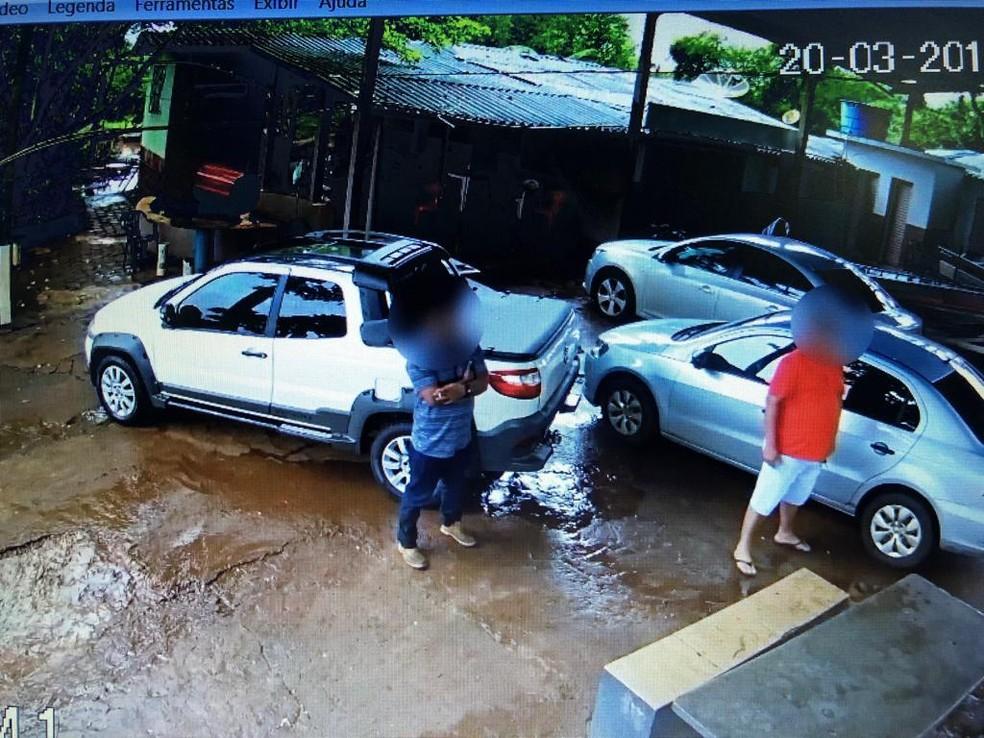 Imagens da investigação da PF — Foto: Polícia Federal/Investigação