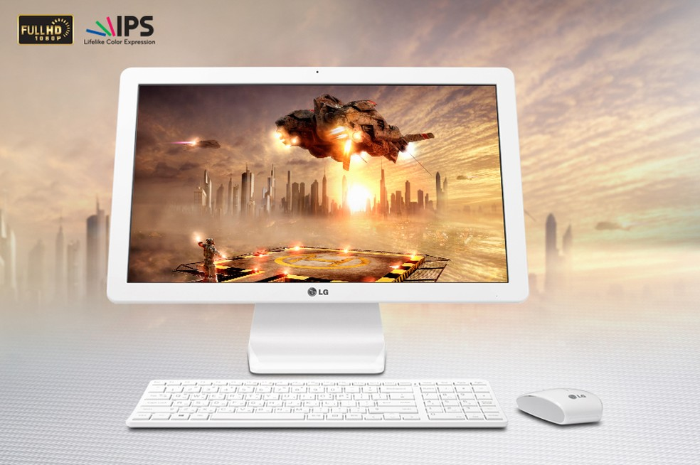 Ambos os computadores têm telas parecidas (Foto: Divulgação/LG)