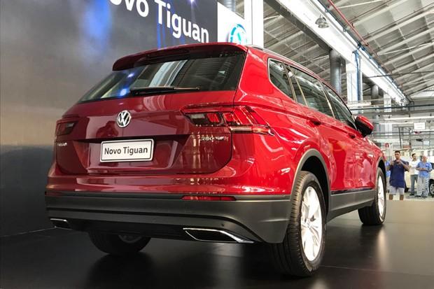 Volkswagen Tiguan (Foto: Diogo de Oliveira/ Autoesporte)