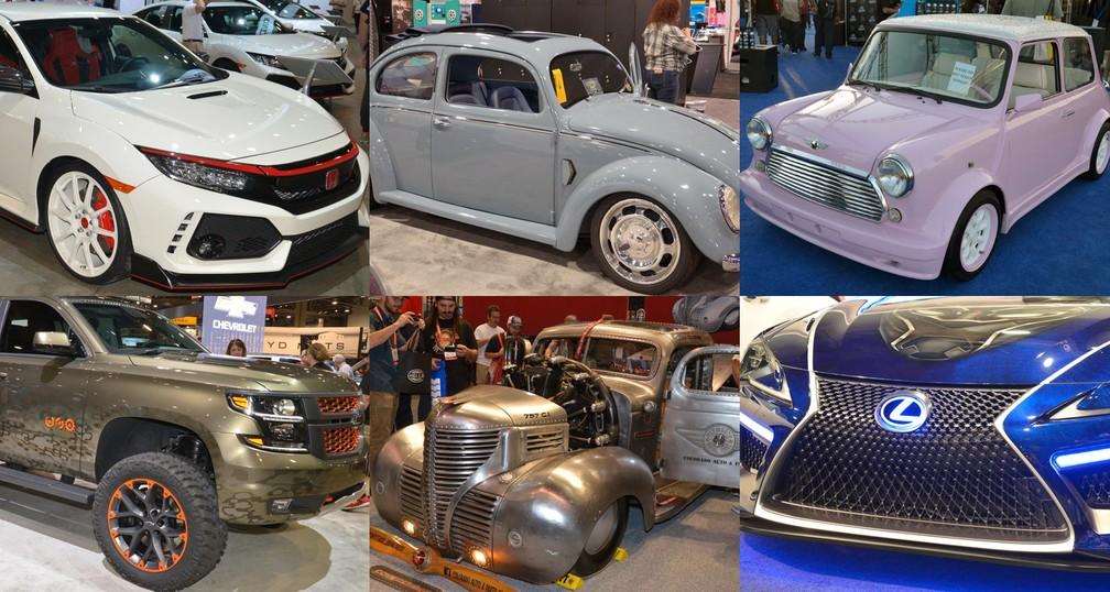 sema show 2017 veja fotos da maior feira de carros customizados do mundo autos motores. Black Bedroom Furniture Sets. Home Design Ideas