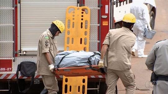 Corpo de mulher é achado dentro de mala jogada em córrego de Aparecida de Goiânia