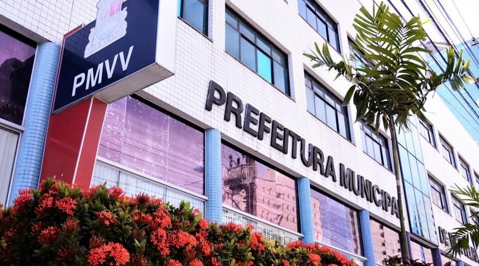Prefeitura de Vila Velha — Foto: Felix Falcão/PMVV