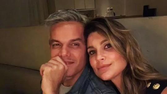 Otaviano Costa faz declaração para Flávia Alessandra: 'Meu amor maior'