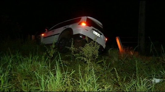 Carro desceu ribanceira e percorreu mais de 30 metros em acidente que matou Júnior Coimbra