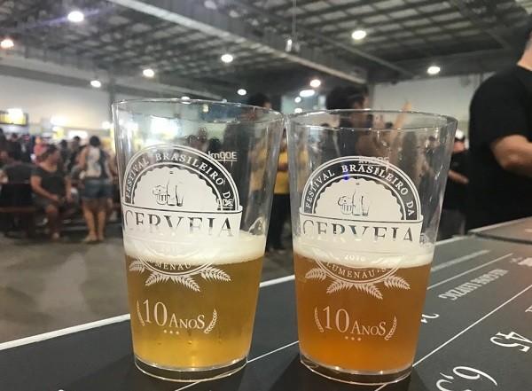 Blumenau-SC recebeu em 2018 a décima edição do Festival Brasileiro da Cerveja