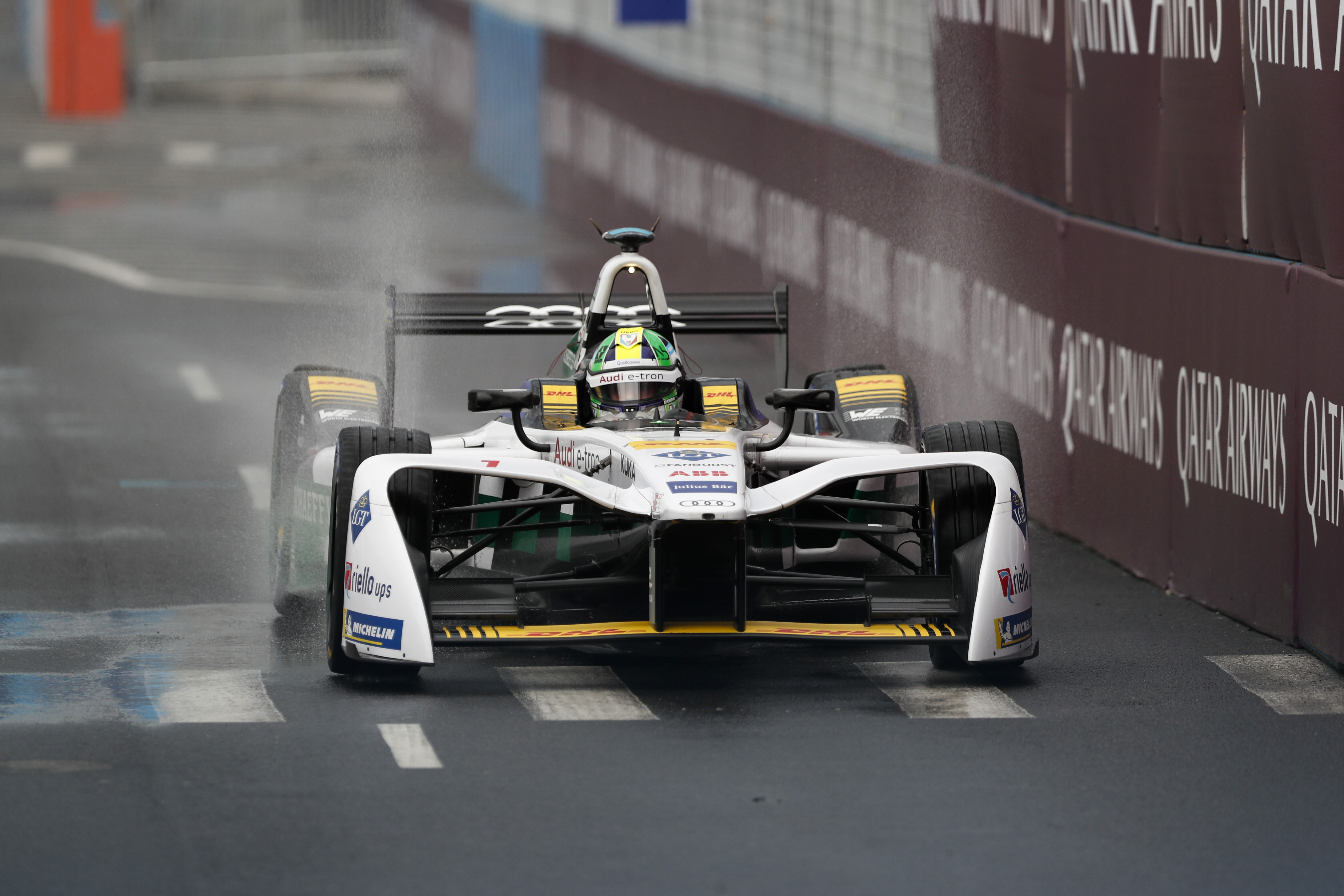 Lucas Di Grassi durante a etapa de Nova York da Formula E (Foto: Getty Images)