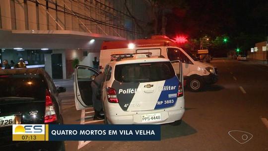 Quatro jovens são assassinados em Vila Velha, ES