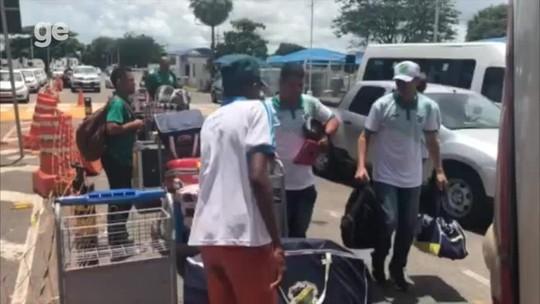 Altos retorna ao Piauí após eliminação na Copa do Nordeste; veja desembarque