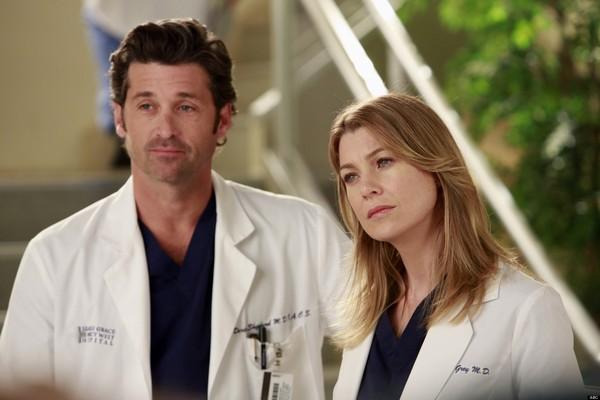 Patrick Dempsey e Ellen Pompeo em cena de Grey's Anatomy (Foto: Divulgação)