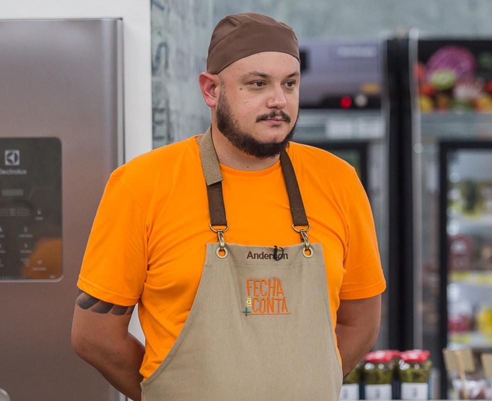 Anderson Amar - Participante do 'Fecha a Conta' — Foto: Artur Meninea/Gshow