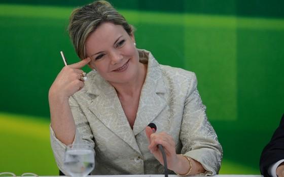 Gleisi Hoffmann (Foto: Fabio Rodrigues Pozzebom/ABr)