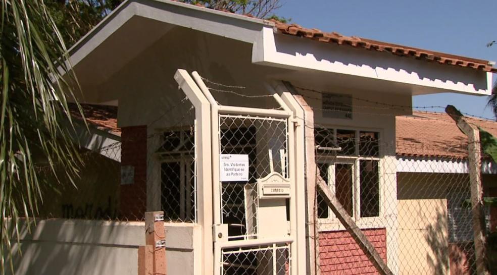 Moradia da Unesp de Araraquara (SP) — Foto: Reprodução/EPTV