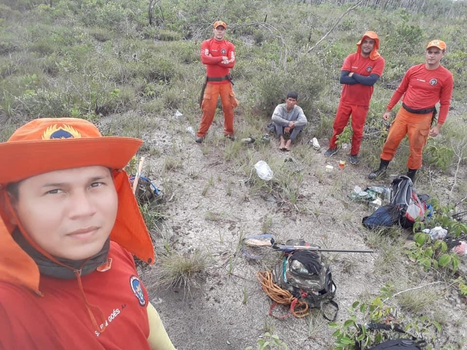 Agricultor é resgatado após passar nove dias perdido em mata no interior de Roraima