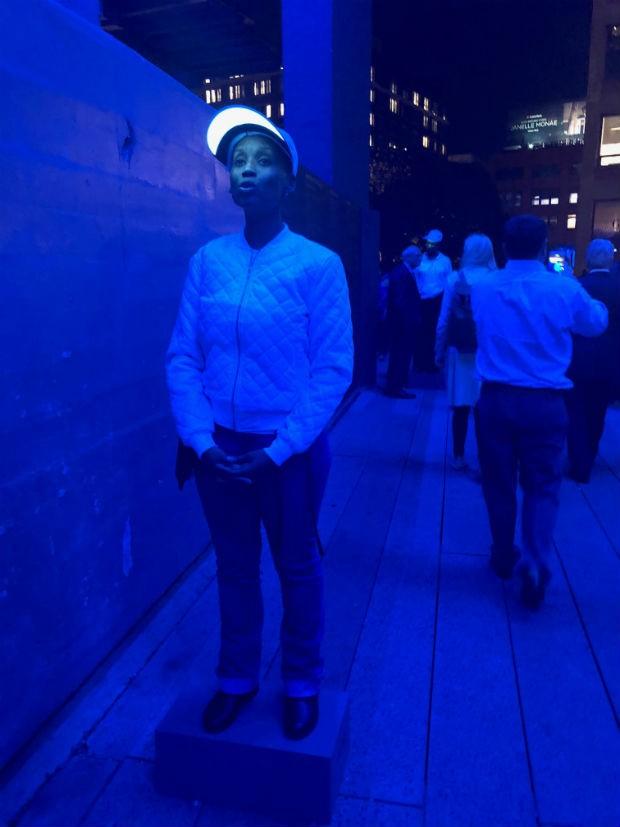 A ópera 7PM no High Line em Nova York (Foto: Gisela Gueiros)