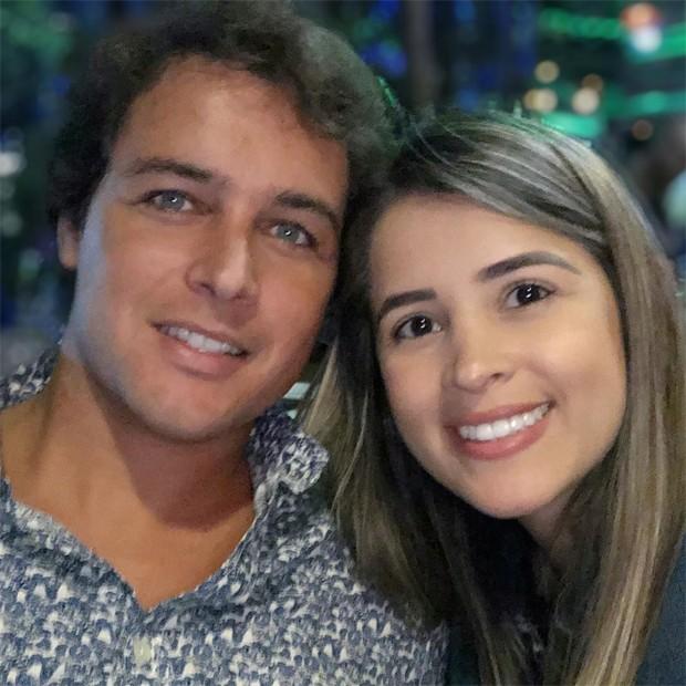 Felipe Dylon e Alana Marquez (Foto: Reprodução/Instagram)