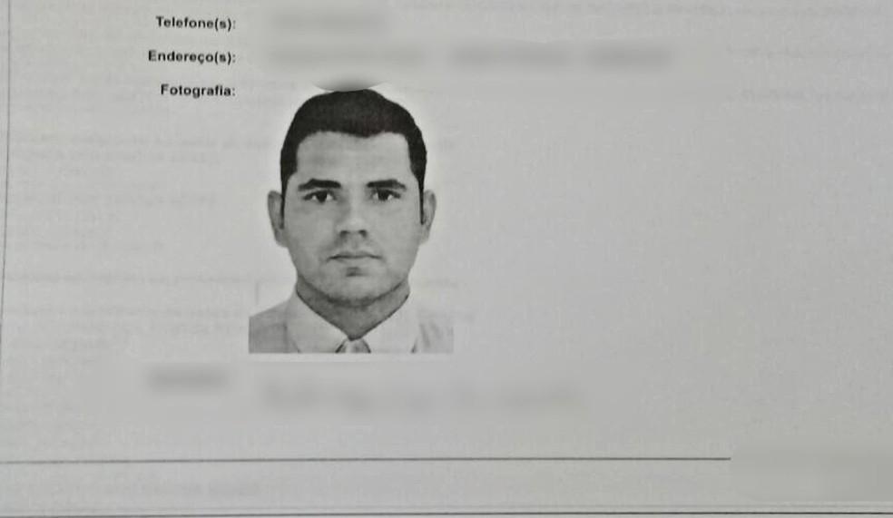 Rodrigo Santos Neves foi morto em Sinop (Foto: Polícia Civil de Mato Grosso/Divulgação)